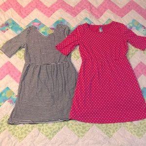 2 Casual Dresses